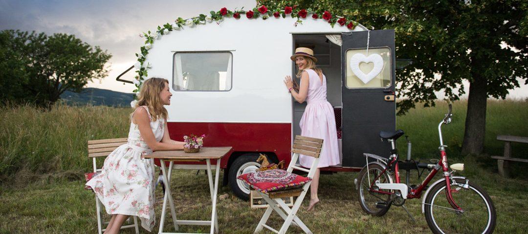 """My home is my Caravan """"Rosie"""""""