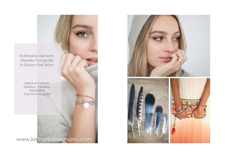 Katharina Axmann Photography Werbeflyer