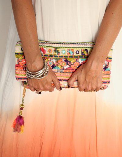 Handtasche und Hände Bohemia Chic