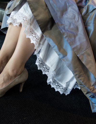 Füsse der Braut im Loisium