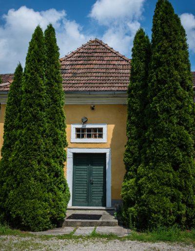 Hinteransicht Hotel Schloss Mühldorf in OÖ