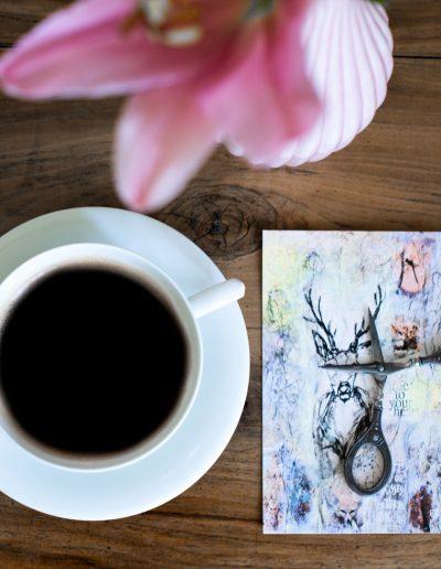 Kaffeehauskultur in Baden bei Wien und Kunst