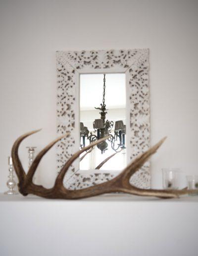 Dekoration in einer Villa in Baden bei Wien gegenüber des Rollettmuseums