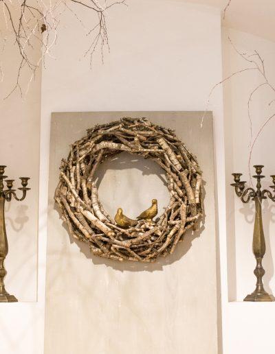 dekorativer Kranz