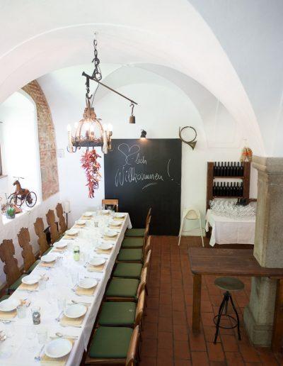 Interieur ExterieurFotos von der Jagdstube im Hotel Schloss Mühldorf