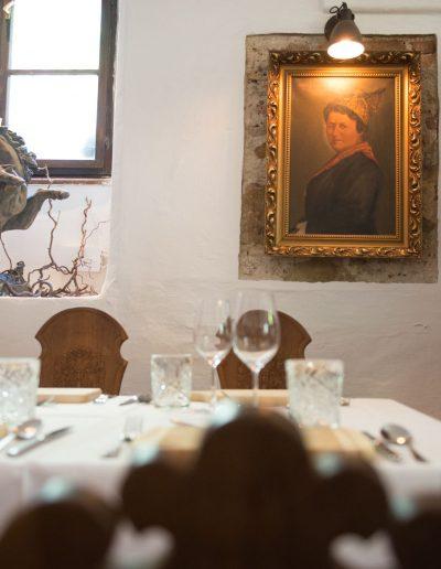 Fotos von der Jagdstube im Hotel Schloss Mühldorf