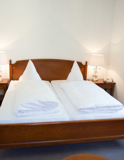 Gästezimmer im Hotel Schloss Mühldorf