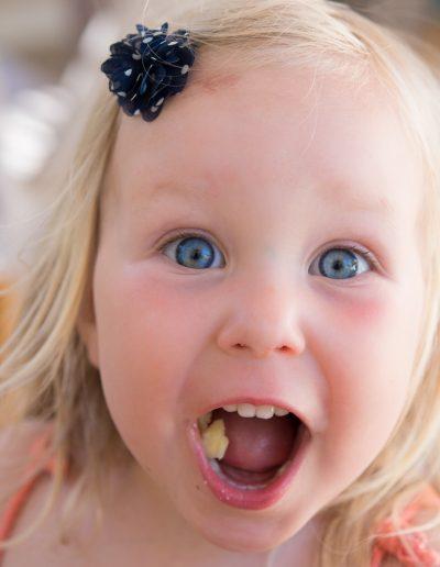 Foto eines Mädchens