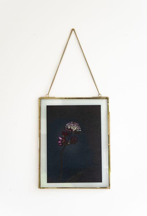 Fotoplakat mit Rahmen dark Mood