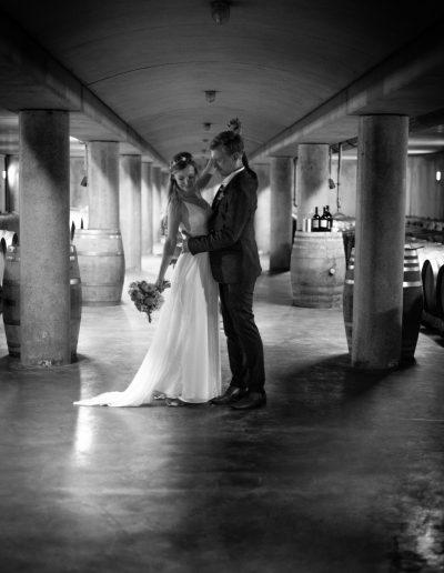 Hochzeit im Weingut Sooss