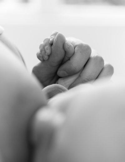 Hand von Baby