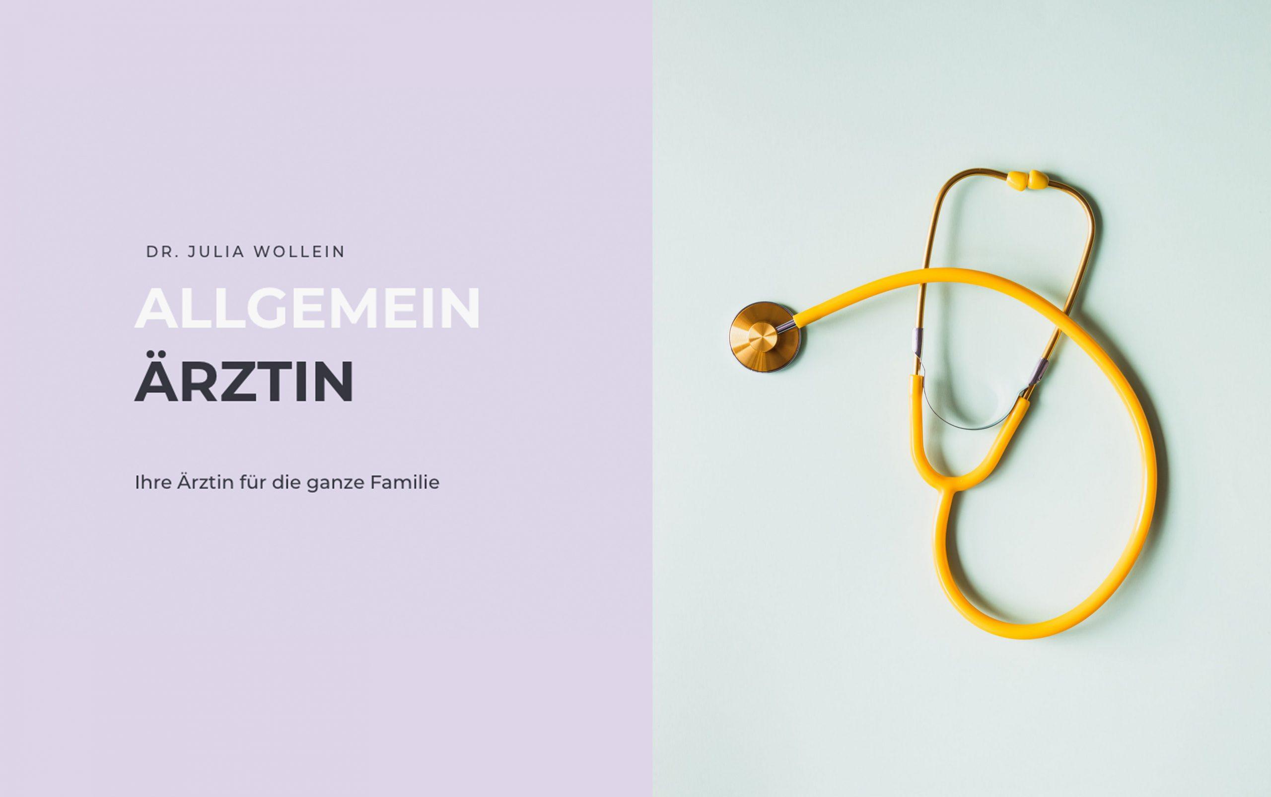 Webseite von Dr. Julia Wollein Wien